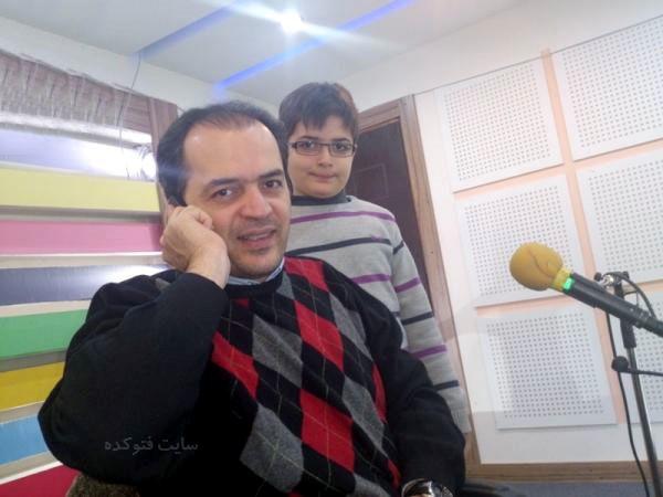 عکس پیمان یوسفی و پسرش + زندگی شخصی