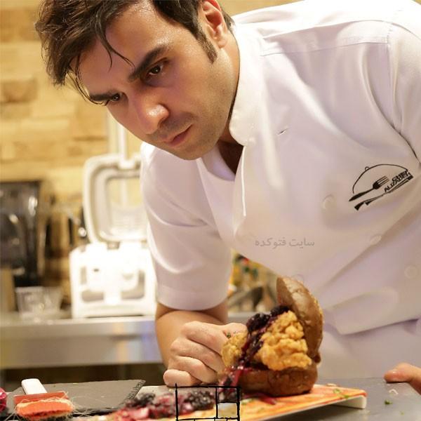 عکس های پژمان علیزاده آشپز