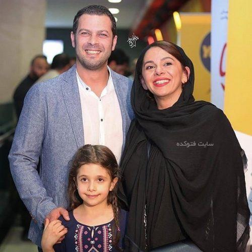 عکس همسر و دختر پژمان بازغی + زندگینامه کامل