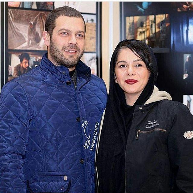 عکسپژمان بازغی و همسرش مستانه مهاجر + بیوگرافی