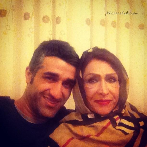 عکس پژمان جمشیدی و مرحوم مادرش + زندگینامه
