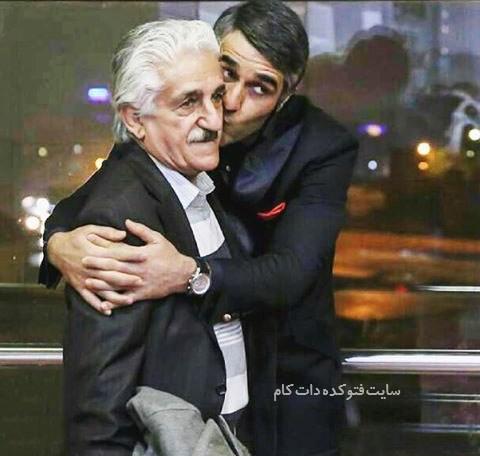 عکس پژمان جمشیدی  و پدرش + بیوگرافی کامل