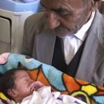 پیرمرد 95 ساله طبسی پدر شد