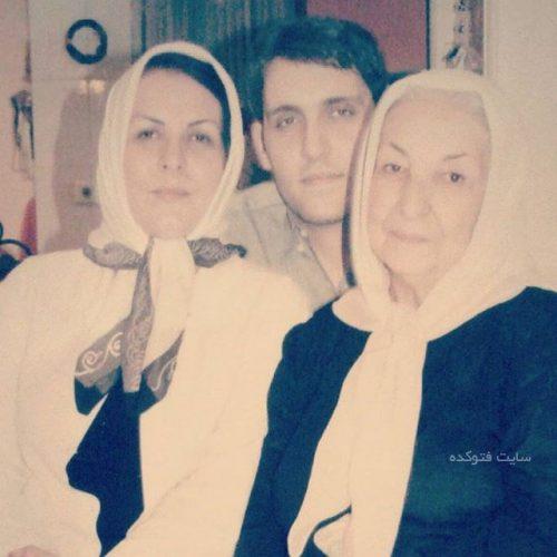 عکس خانوادگی پوراندخت مهیمن