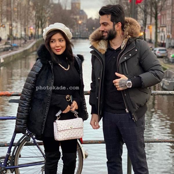 عکس جدید پویان مختاری و همسرش نیلی افشاری با بیوگرافی کامل