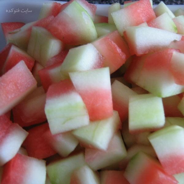 پوست هندوانه برای چی خوبه و چی بد