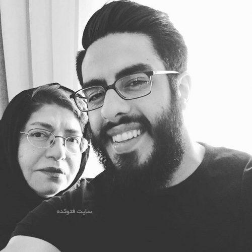عکس پوریا شکیبایی و مادرش پروین کوشیار