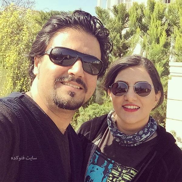 پوریا اخواص و همسرش الهام احمدی + بیوگرافی کامل