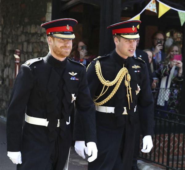 عکس ازدواج پرنس هری و مگان مارکل