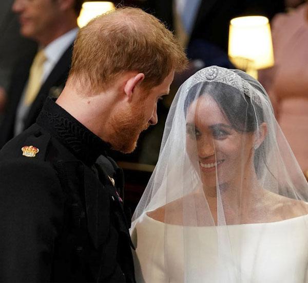 عکس عروسی پرنس هری و مگان مارکل