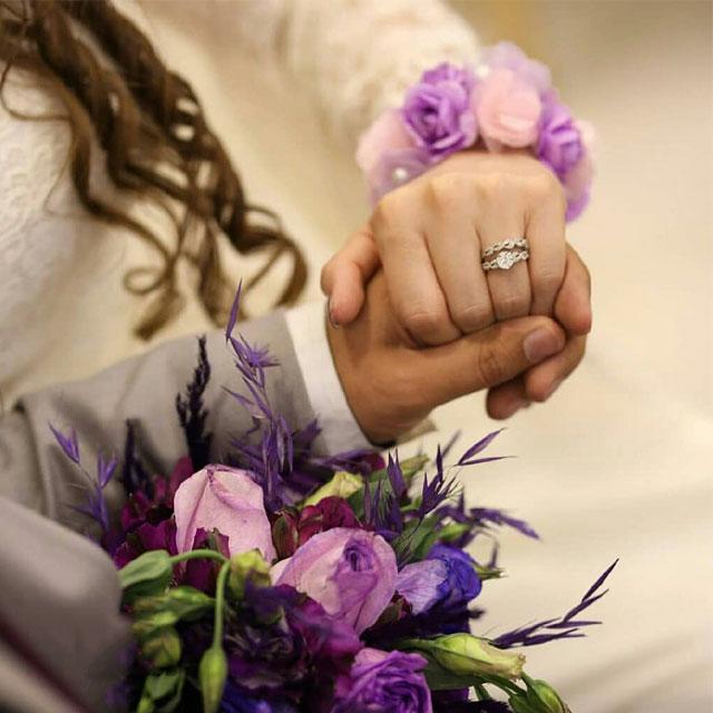 عکس پروفایل بدون متن نامزدی و ازدواج