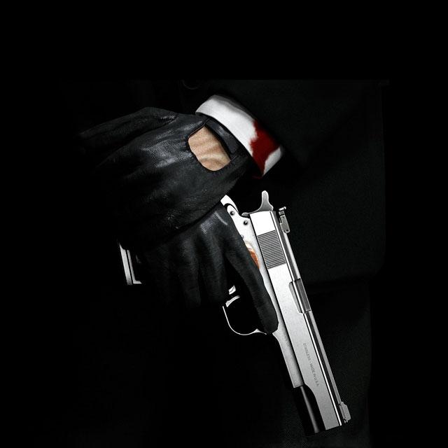عکس اسلحه با متن پسرانه خاص