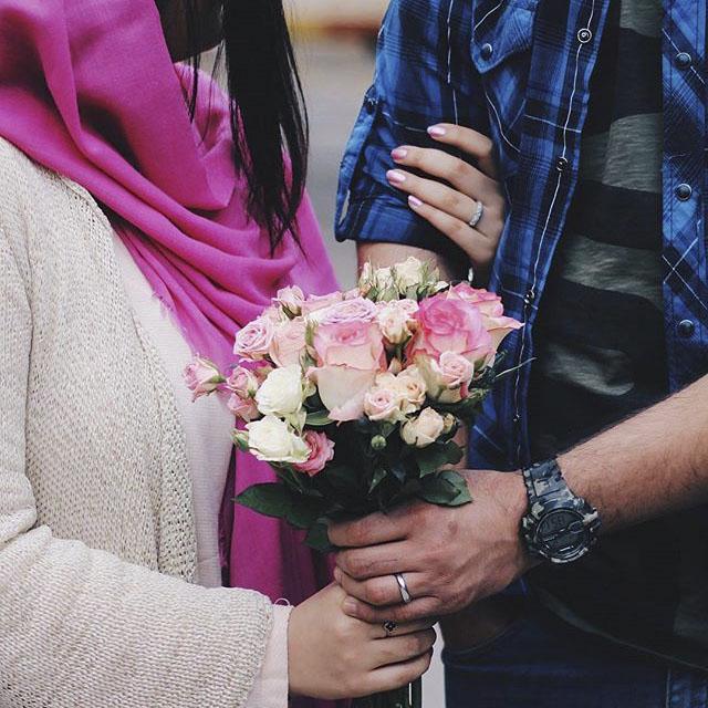 عکس پروفایل گل عاشقانه دونفری