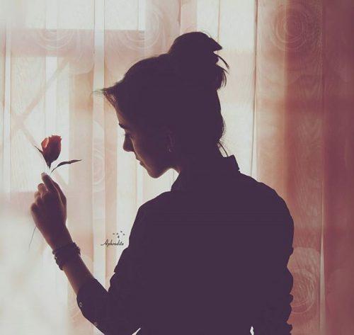 عکس تنهایی غمگین دخترونه