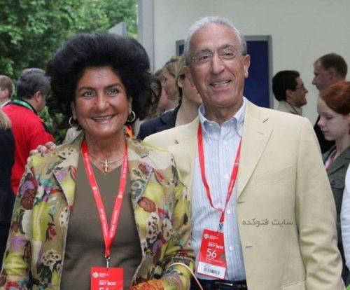 پروفسور مجید سمیعی و همسرش مهشید سمیعی