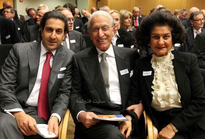همسر و پسر مجید سمیعی