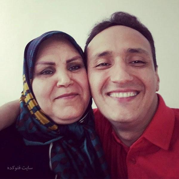 عکس پرویز نشاط و مادرش + بیوگرافی کامل