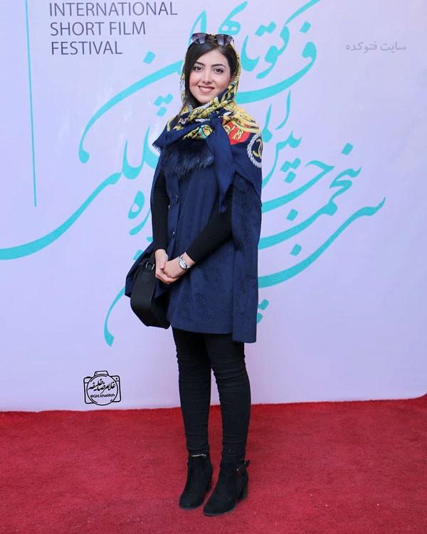 مدل مانتو بازیگران مشهور ایران در پاییز 97 + بیوگرافی زیبا کرمعلی