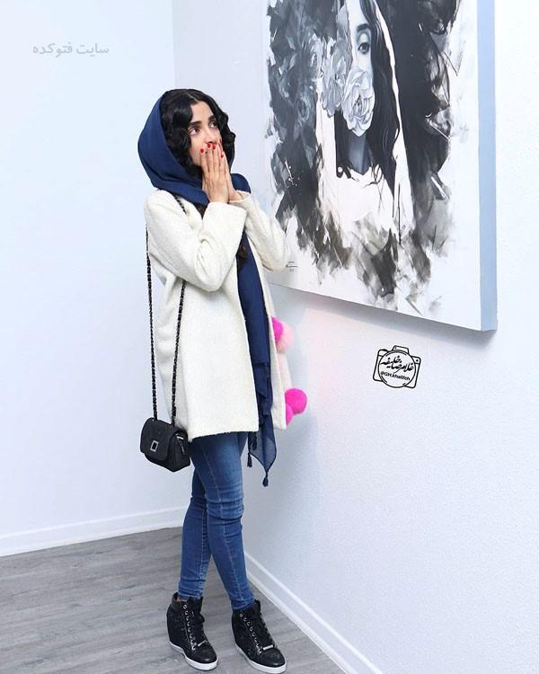بیوگرافی بازیگران زن در پاییز 97 الهه حصاری