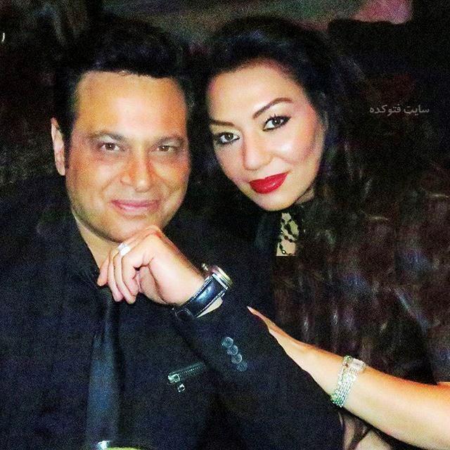 عکس و بیوگرافی پیروز خواننده و همسرش نازی سهیلی