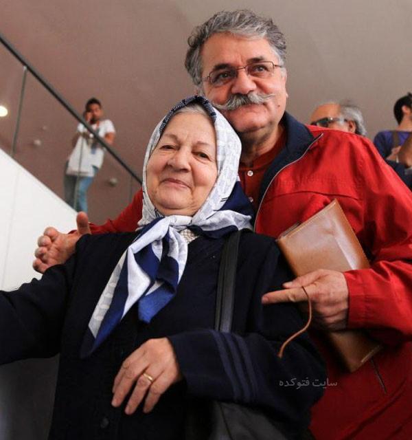 رابعه مدنی و پسرش امیر شهاب رضویان