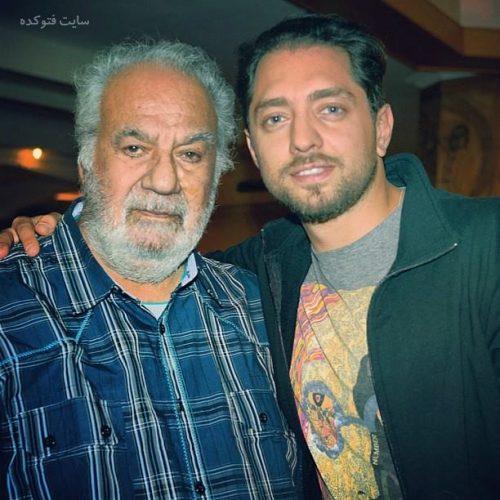 عکس بهرام رادان و ناصر ملک مطیعی + بیوگرافی کامل