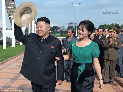 عکس های رهبر کره شمالی و همسرش
