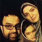 راحله امینیان و همسرش علیرضا کنگرلو + ماجرای ازدواج