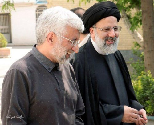 عکس ابراهیم رئیسی و سعید جلیلی + بیوگرافی