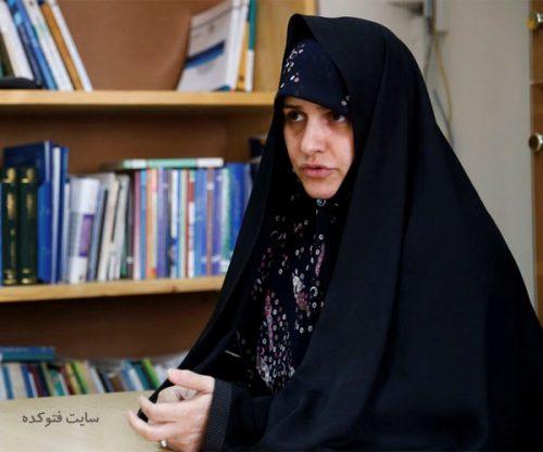 عکس جمیله سادات علم الهدی همسر ابراهیم رئیسی + بیوگرافی