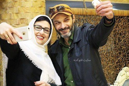 عکس رامین پرچمی و معصومه کریمی + زندگینامه