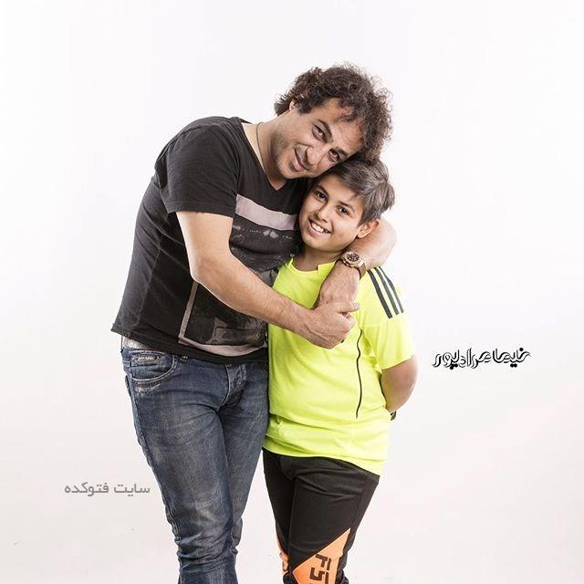 رامین راستاد و پسرش آرشک