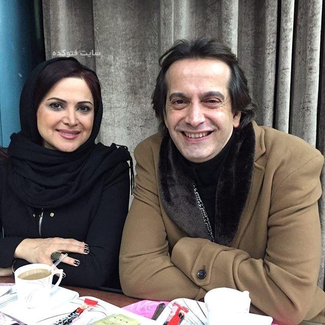Ramsin Kebriti در کنار کمند امیر سلیمانی