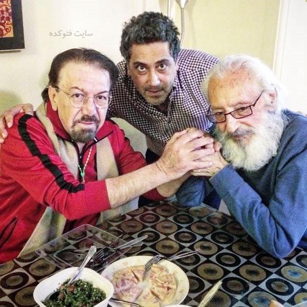 رامتین خداپناهی با جمشید مشایخی و ناصر چشم آذر
