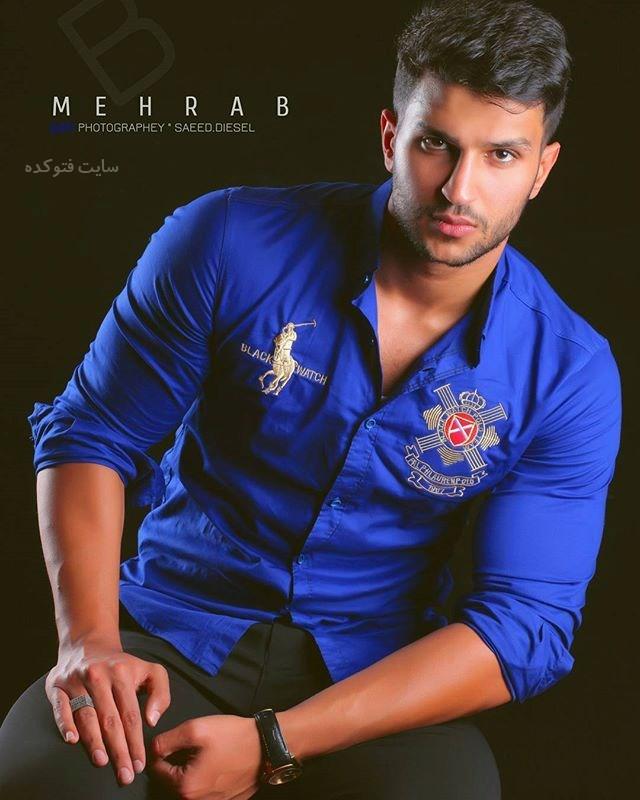 عکس جدید حسین زینالی معروف به مهراب (بیوگرافی)