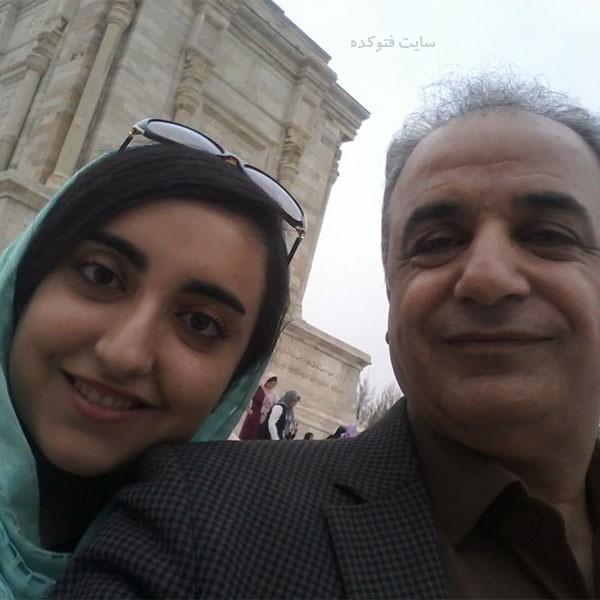 رشید کاکاوند و دخترش پرشاد + بیوگرافی کامل