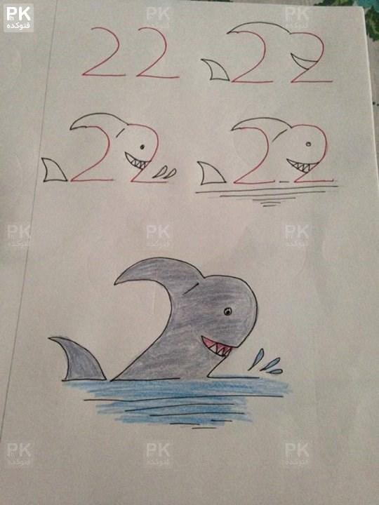 آموزش نقاشی های زیبا با اعداد,کشیدن نقاشی با استفاده از عدد,آموزش نقاشی زیبا و قشنگ,نقاشی ساده و خوشگل,نقاشی حیوانات با عدد,ترفند های نقاشی با اعداد,krhad