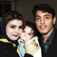بیوگرافی رسول خطیبی و همسرش + زندگی شخصی فوتبالی