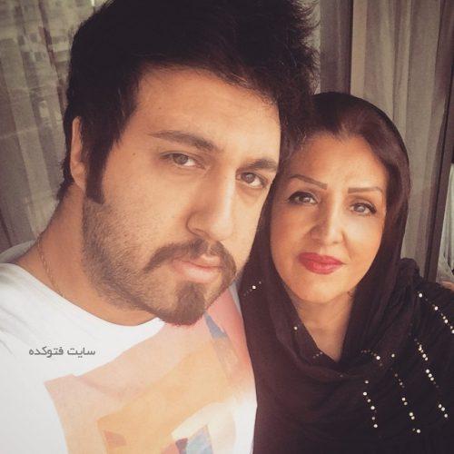عکس رستاک حلاج  + مادرش