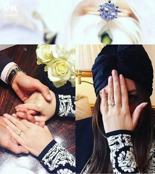 ازدواج رضا قوچان نژاد با سروین بیات ،خواهر ساره بیات + عکس