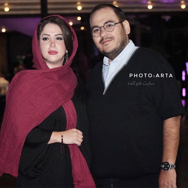 بیوگرافی رضا داوود نژاد و همسرش غزل بدیعی