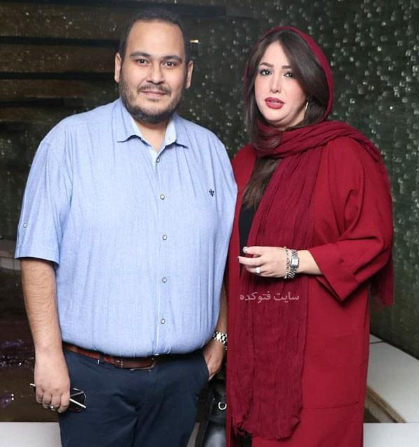عکس های رضا داوود نژاد و همسرش غزل بدیعی