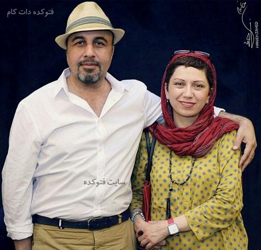 عکس رضا عطاران و همسرش فریده فرامرزی + بیوگرافی