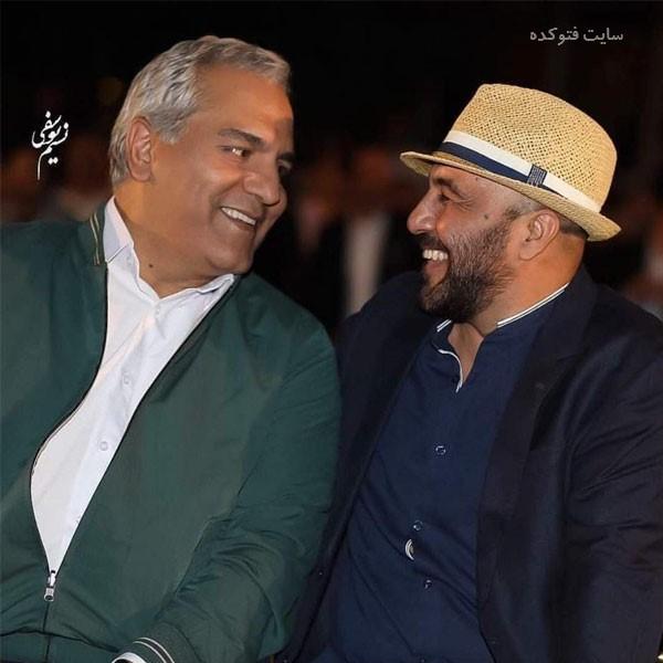 عکس رضا عطاران و مهران مدیری و رابطه آنها