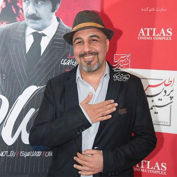 Reza Attaran بازیگر کیست