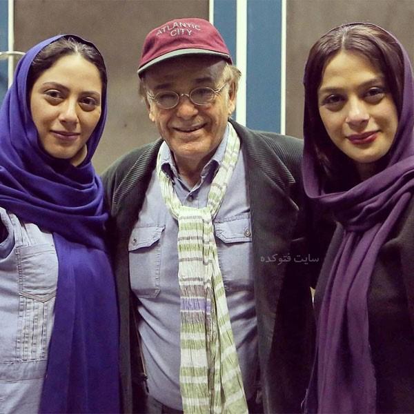 عکس های رضا بابک در کنار خواهران فرجاد