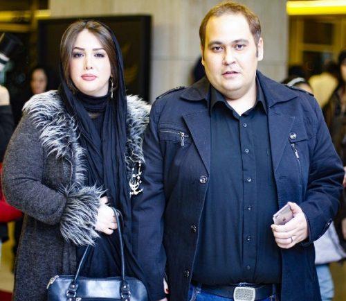 عکس رضا داوودنژاد و همسرش در اسفند 95
