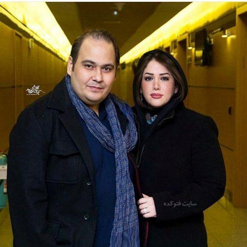 عکس رضا داوود نژاد و همسرش غزل بدیعی + بیوگرافی و بیماری و مرگ