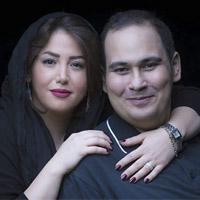 رضا داوود نژاد و همسرش غزل بدیعی و بیماری اش