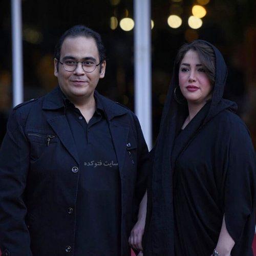 عکس رضا داوود نژاد و همسرش + نحوه آشنایی و ازدواج